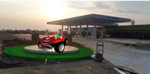 Posto de combustível da Rede SIM tem 50 vagas disponivéis para o complexo da free-way em Gravataí.
