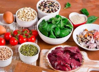 Orientações de saúde – Alimentos Rico em Ferro