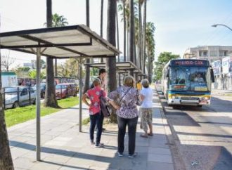 Obras na avenida Ernesto Neugebauer alteram terminal de ônibus