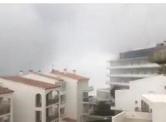 MUNDO : VÍDEO…Ondas gigantescas atingiram parte do litoral da Espanha