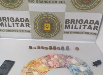 Homem é preso por tráfico de drogas em Gravataí