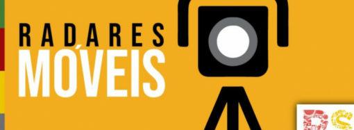 Estado divulga rodovias com radares móveis entre 13/02 e 16/02