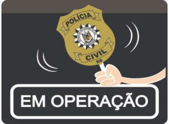 Polícia Civil em ação