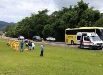 Trabalhador que fazia limpeza de rodovia morre atropelado na BR 386 em Tio Hugo