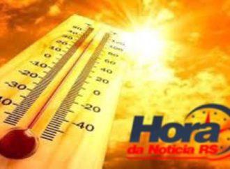 Quarta-feira com sol e calor de até 35ºC no RS