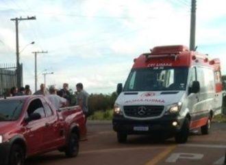 Mulher e criança são atropeladas em Sapucaia do Sul