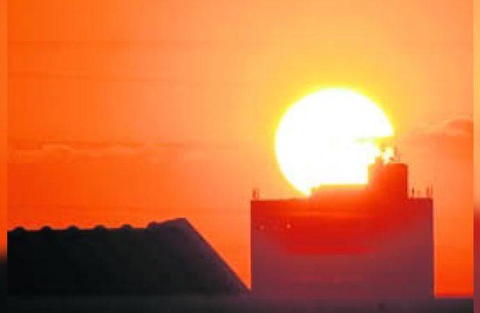 Domingo terá calor escaldante com sensação perto dos 40°C e chuva