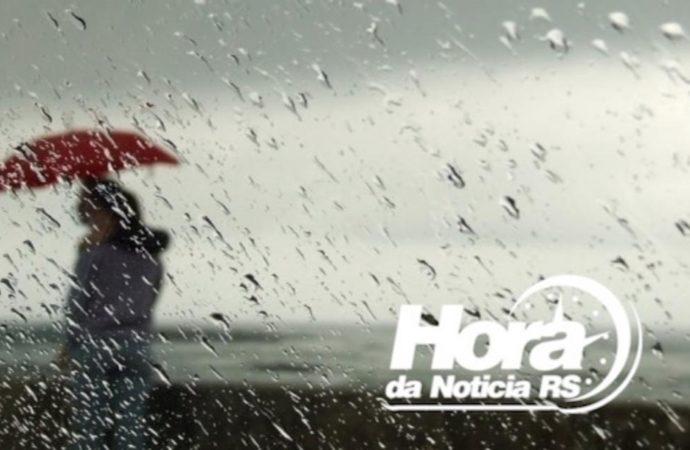Frente fria deve trazer chuvas ao Estado apartir deste domingo