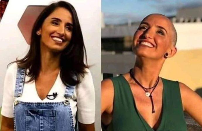 A Jornalista Alice Bastos Neves apresentadora do Globo Esporte RS, postou a primeira foto sem os cabelos