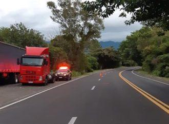 Motociclista morre em acidente na BR 101 em Osório