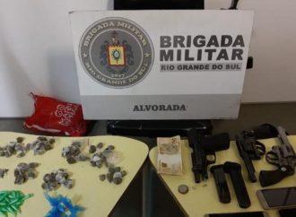 Furtada há 18 anos, pistola registrada em nome de Renato Portaluppi é encontrada pela BM