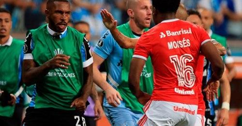 Grêmio e Inter recebem punições por conta da confusão na Libertadores
