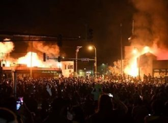 EUA: delegacia é queimada em ato contra morte de George Floyd