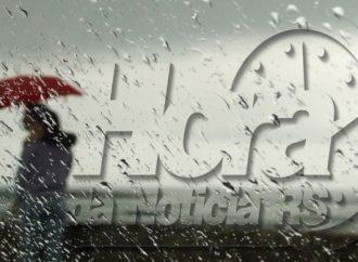 Próximos dias serão chuvosos no RS; frio intenso partir do dia 14
