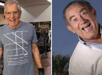 Carlos Alberto fala sobre Renato Aragão na 'Praça': 'Busco no colo'