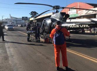 VÍDEO: Grave acidente deixa uma mulher ferida