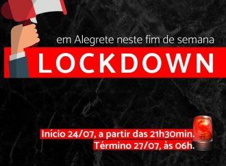 Prefeito de Alegrete decreta Lockdown neste final de semana
