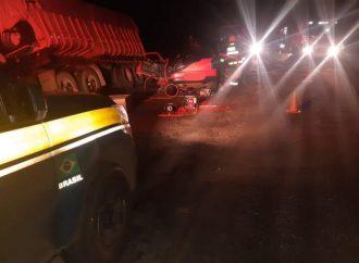 Colisão mata três pessoas na BR 158, em Cruz Alta
