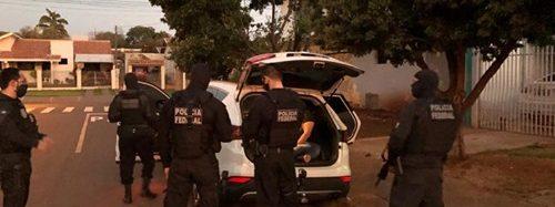 Homem é preso transportando fuzil para facção criminosa