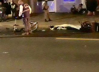 Motociclista morre após colidir em uma bicicleta, em Canoas