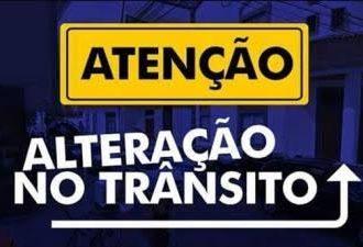 Região da Sertório terá alterações no trânsito a partir desta terça-feira