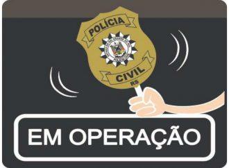 Polícia Civil em ação, Operação PAX.