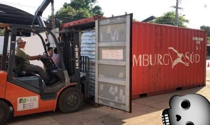 Encontrados sete corpos em decomposição em container vindo da Sérvia para o Paraguai