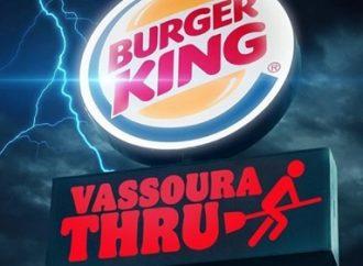 "Burger King dará sanduíche para quem passar ""de vassoura"" pelo drive-thru"