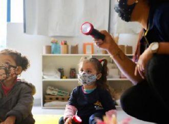 Prefeitura atende 1.788 crianças no primeiro dia de retomada da educação infantil