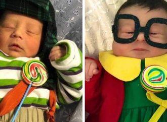 DIA DAS CRIANÇAS: Hospital veste recém nascidos com roupas do Chaves e da Chiquinha