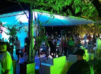 Guarda Municipal interdita festa clandestina na Ilha das Flores