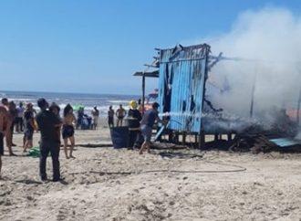 Urgente: incêndio em quiosque provoca morte de criança em Imbé