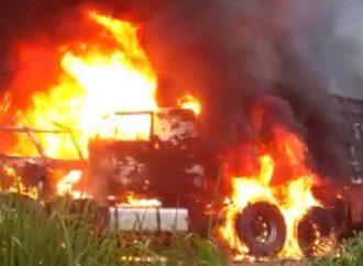 """TRAGÉDIA: """"Eu amo todo mundo"""": vídeo mostra últimas palavras de jovem que morreu queimado em acidente"""