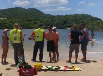 Soldado da Brigada Militar morre após salvar filho e sobrinho na Praia do Rosa, em Santa Catarina. Saiba mais: