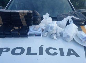 Brigada Militar realiza apreensão de mais de 10kg de drogas