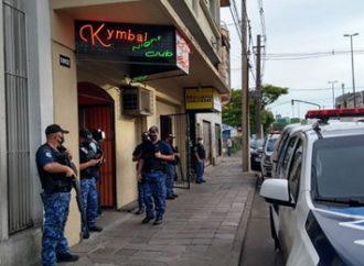 Boate interditada em Porto Alegre