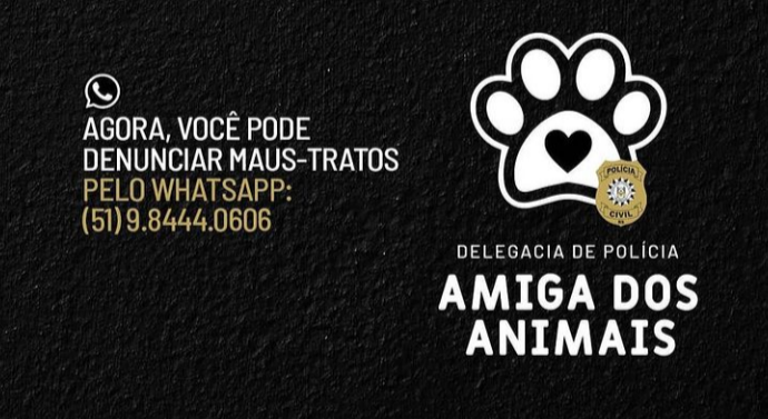 """Polícia Civil lança selo """"Delegacia de Polícia Amiga dos Animais"""""""