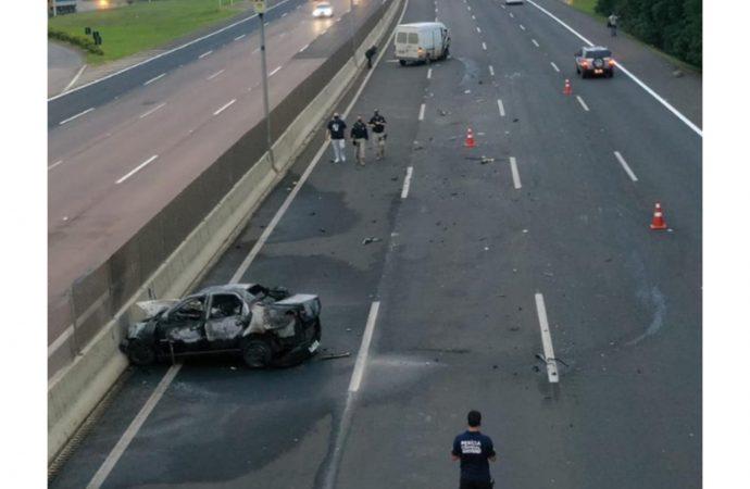 Polícia investiga acidente que matou motorista de Sapucaia do Sul na Freeway