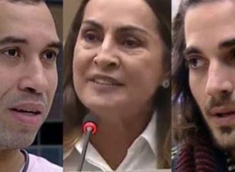 VÍDEO: Vereadora é acusada de homofobia após repudiar beijo entre Gil e Fiuk no BBB 21