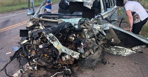 Grave acidente deixa quatro vítimas na BR-285