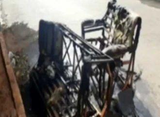 Adolescente bota fogo na casa após mãe proibi-lo de jogar no celular