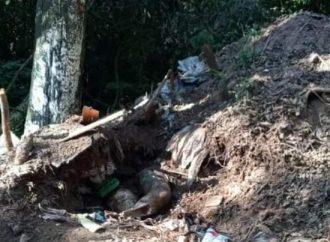 Corpo é encontrado enterrado no lixo em Gravataí
