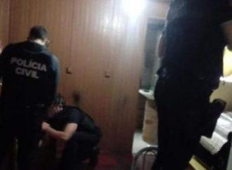 Idoso de 68 anos é preso após estuprar a filha de 12