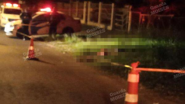 Homem morto na parada 103 de Gravataí