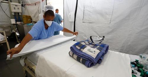 Hospital de campanha do exército é desativado em Porto Alegre