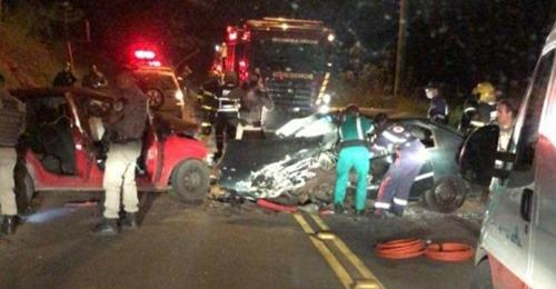 Identificado homem morto ao bater de frente com carro em rodovia