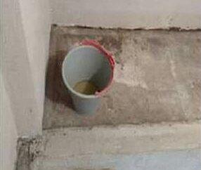 Esposa maltrata marido e o obriga a fazer necessidades dentro de balde
