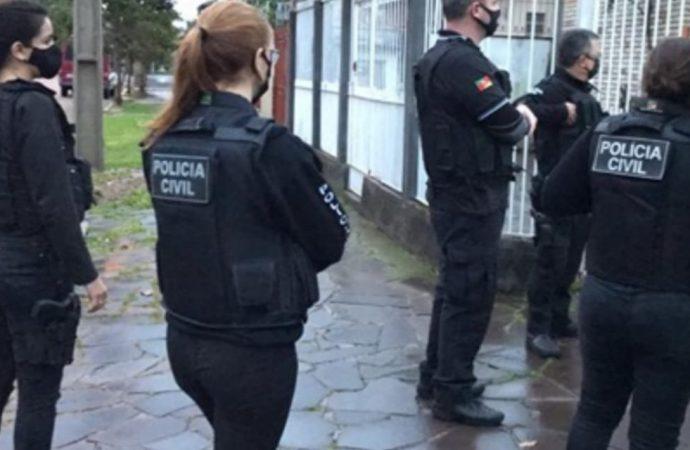 Operação da polícia contra estupradores e pedófilos