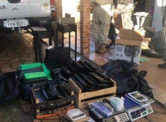 AGORA: traficantes do Mathias Velho, em Canoas, são presos com mais de 120kg de maconha