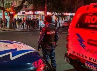 Operação conjunta dispersa 800 pessoas na noite de Porto Alegre
